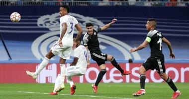 Реал Мадрид - Шериф 1:2 видео голов и обзор матча Лиги чемпионов