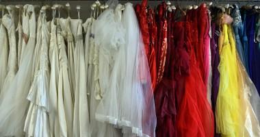 Совет да футбол: в Кардиффе продают свадебные платья для фанаток Реала и Ювентуса