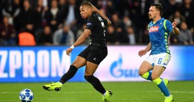 ПСЖ – Наполи 2:2 видео голов и обзор матча Лиги чемпионов