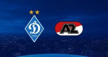 Динамо - АЗ 2:0 онлайн-трансляция матча квалификации Лиги чемпионов