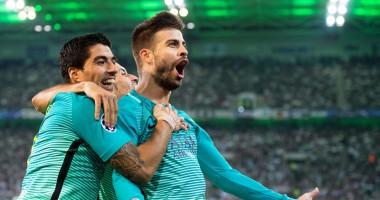 Боруссия  М - Барселона 1:2 Видео голов и обзор матча Лиги чемпионов