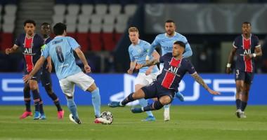 ПСЖ - Манчестер сити 1:2 видео голов и обзор полуфинала Лиги Чемпионов