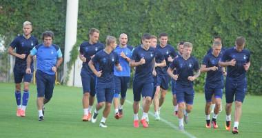 Динамо – Наполи: Открытая тренировка киевлян накануне матча