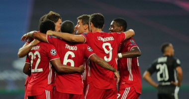 Лион - Бавария: 0:3 видео голов и обзор матча Лиги чемпионов