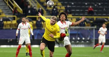 Боруссия Д - Севилья 2:2 видео голов и обзор матча Лиги чемпионов