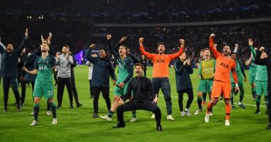 Видео дня: как игроки Тоттенхэма праздновали выход в финал Лиги чемпионов