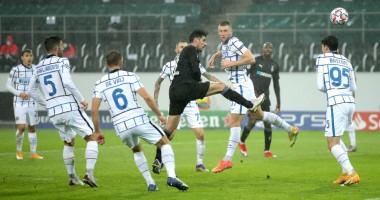 Боруссия М - Интер 2:3 видео голов и обзор матча Лиги чемпионов
