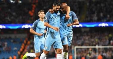 Манчестер Сити - Стяуа 1:0 Видео гола и обзор матча Лиги чемпионов