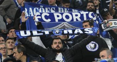 Фанат Порту сорвал овации, обнявшись с болельщиком Ювентуса