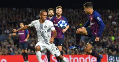 Барселона – Интер 2:0 видео голов и обзор матча Лиги чемпионов