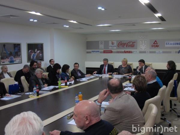 Заседание Украинской академии спорта
