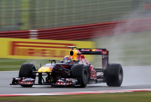 Уэббер выиграл поул на Гран-при Великобритании