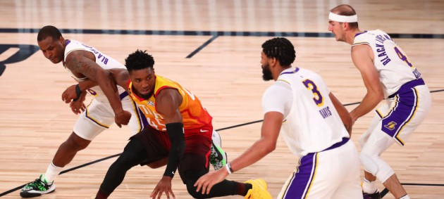НБА: Лейкерс разобрался с Ютой, Торонто сильнее Майами