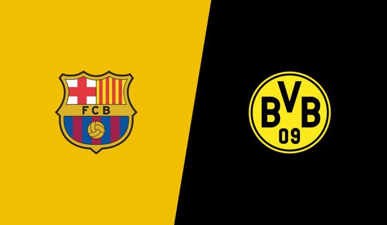 Барселона боруссия онлайн трансляция