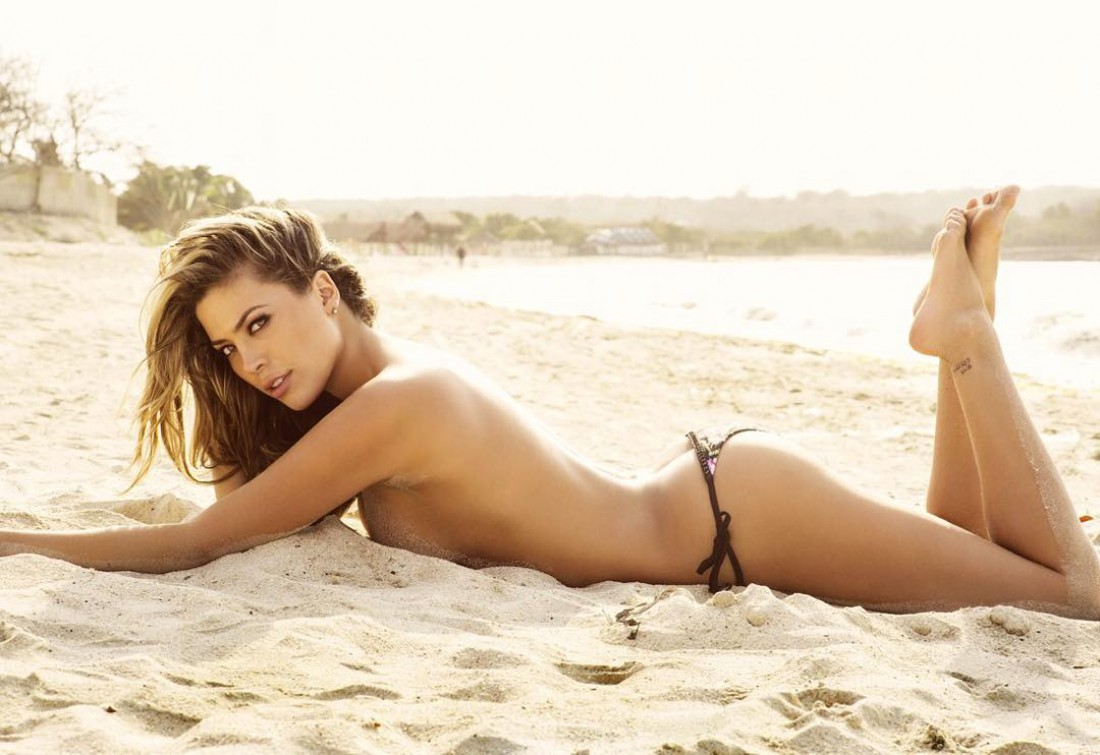 Колумбийская модель и актриса Даниэла Тамайо