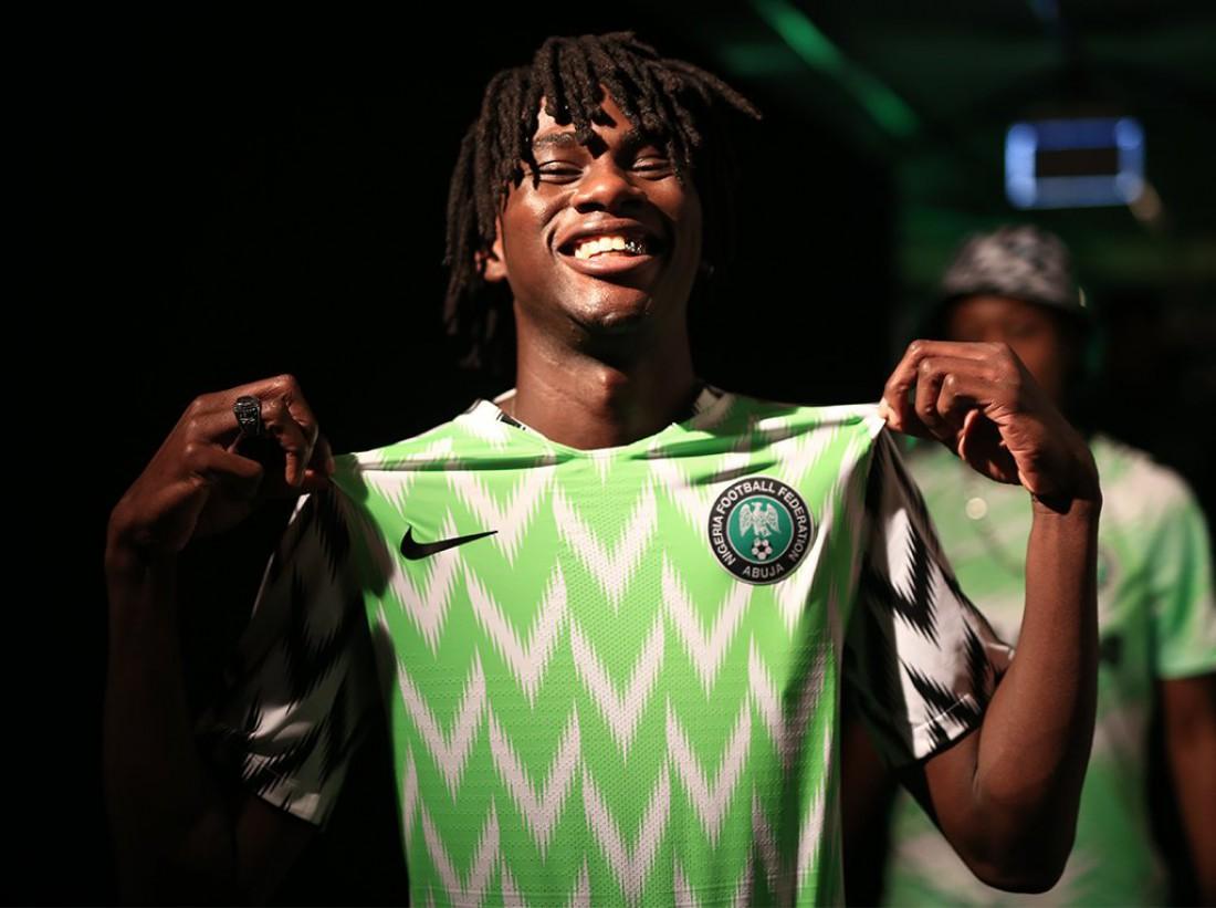 Форма сборной Нигерии на ЧМ-2018