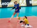 Сборная Украины завершила выступления в женской волейбольной Золотой Евролиге