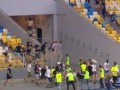 Кто виноват в драке на матче Днепр - Копенгаген (видеосюжет)