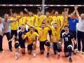 Сборная Украины завоевала серебро на чемпионате Европы U-20 по волейболу