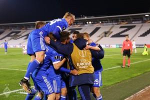 Динамо победило, уступая в два мяча, второй раз в истории еврокубков