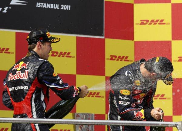 Red Bull сделал первый дубль в сезоне