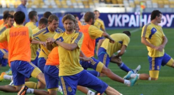 Украина будет играть с Израилем на победу