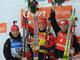 Победители гонки преследования: Бьорндален, Свендсен и Сикора
