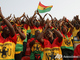 Фаны сборной Ганы - самые дружные