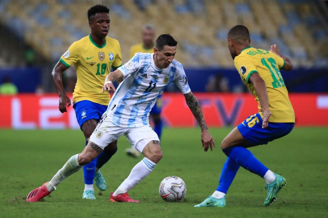 Аргентина - Бразилия: видео гола и обзор матча