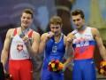 Украинцы выиграли два золота и бронзу на ЧЕ по спортивной гимнастике