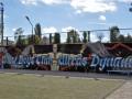 Бело-синее искусство. Впечатляющее граффити динамовских ультрас