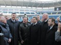 Янукович посетил новый стадион Черноморец в Одессе