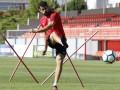 Коварная бутса испортила Диего Косте тренировку с Атлетико