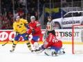 Норвегия - Швеция- 1:9 видео шайб и обзор матча ЧМ по хоккею