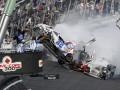 Страшная авария. Во время гонки NASCAR пострадали зрители (ФОТО, ВИДЕО)