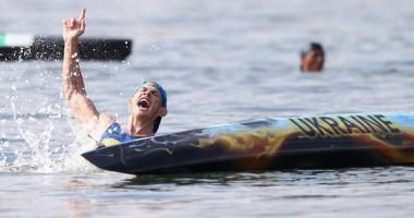 """Второе """"золото"""" Украины в Рио: Как награждали Юрия Чебана"""