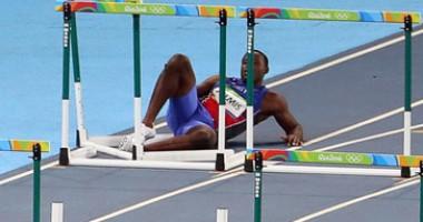 Встал не с той ноги: Неудачный день для спортсмена из Гаити