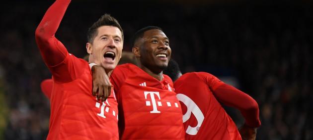 Бавария разгромила Челси на Стэмфорд Бридж