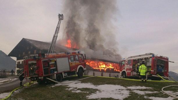 В Рупольдинге сгорел дом, где проживали тренеры сборной Швеции