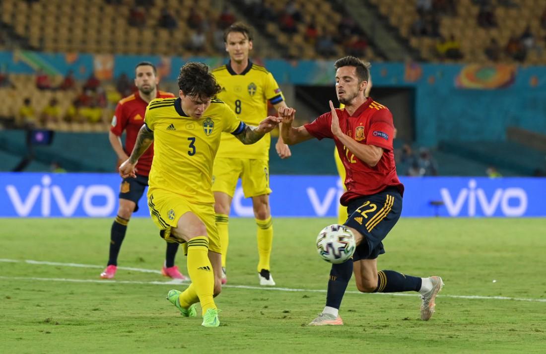 Сборная Испании - сборная Швеции