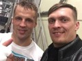 Усик посетил бой потенциальных соперников в Латвии