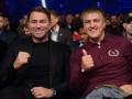 Менеджер Усика опубликовал фото с Хирном и Джошуа