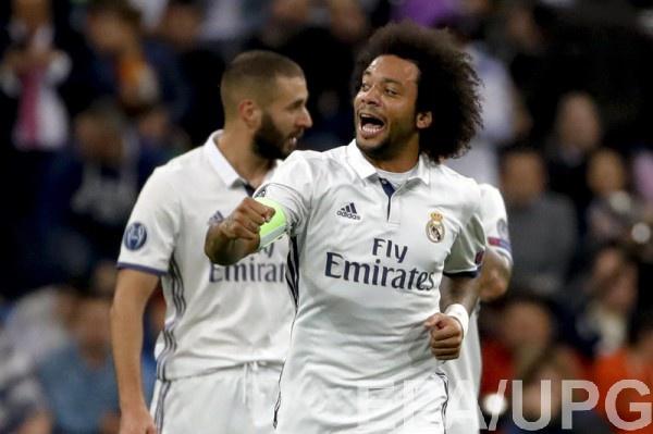 Реал забил пять мячей в ворота Легии