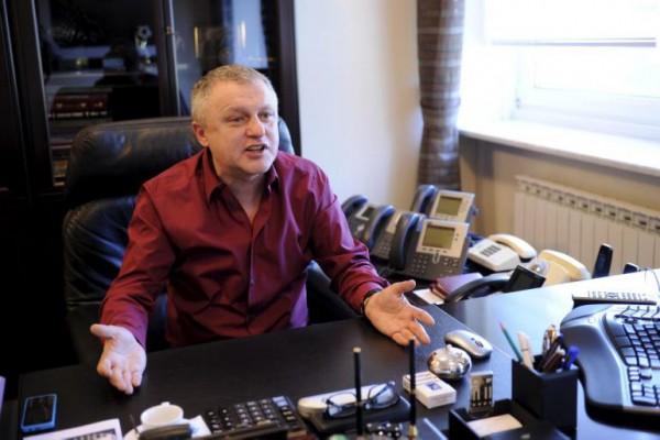 Игорь Суркис рассказал про свои планы