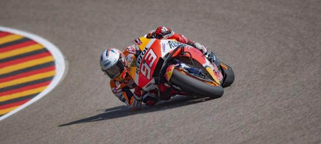 Маркес победил впервые после возвращения в гонки