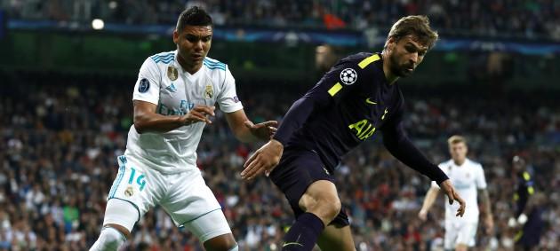 Реал сыграл вничью с Тоттенхэмом на Сантьяго Бернабеу