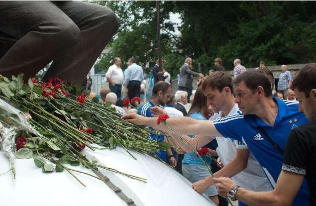 В Киеве почтили память Лобановского