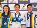 Украинка Беломоина выиграла серебро чемпионата Европы по велоспорту