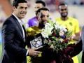 Хави провел свой последний матч в карьере в качестве футболиста