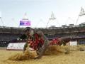 Американка Бритни Риз выиграла золото Олимпиады-2012 в прыжках в длину